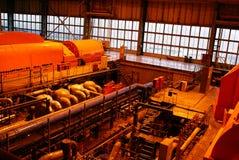 À l'intérieur de de la centrale de courant électrique Photographie stock