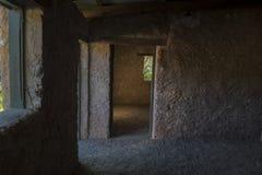À l'intérieur de Dennis Hut, Waitpinga, Australie du sud : Paysage Orienta Image libre de droits