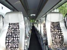 À l'intérieur de du bus photo libre de droits