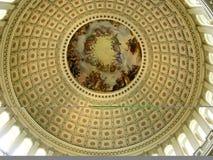 À l'intérieur de du capitol des USA rotunda photos libres de droits