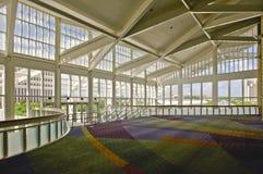 À l'intérieur de du centre de convention Image libre de droits