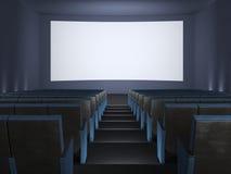 À l'intérieur de du cinéma. Photo stock