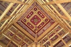 À l'intérieur de du premier plafond de Mondob : L'empreinte de pas du Images libres de droits