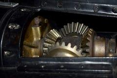 À l'intérieur de l'espace à l'etroit d'USS Pompanito, SS-383, 7 Image libre de droits
