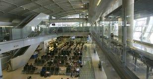 À l'intérieur de l'aéroport dans Dubrovnik Photo stock