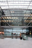 À l'intérieur de l'aéroport Francfort, l'Allemagne Photos stock