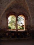 À l'intérieur de l'abbaye Image libre de droits