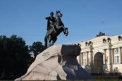 À l'intérieur de l'ermitage à St Petersburg Image stock