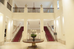 À l'intérieur de l'hôtel Adlon Berlin image libre de droits