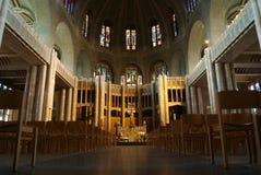 À l'intérieur de la basilique Photo stock