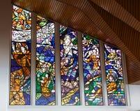 À l'intérieur de la basilique du Senor de Monserrate Photographie stock