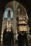 À l'intérieur de la cathédrale à Bruxelles, la Belgique photo libre de droits