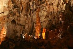 À l'intérieur de la caverne Photos stock