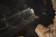 À l'intérieur de la caverne Photo stock