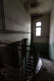 À l'intérieur de la centrale abandonnée Photos stock