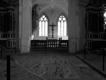À l'intérieur de la chapelle Images libres de droits