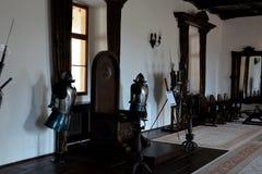 À l'intérieur de la forteresse de Fagaras, comté de Brasov Photo libre de droits