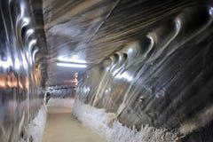 À l'intérieur de la mine de sel Photographie stock