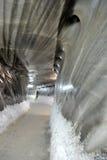 À l'intérieur de la mine de sel Photos stock