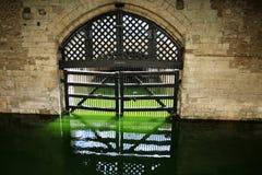 À l'intérieur de la tour de Londres Images stock