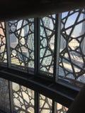 À l'intérieur de la tour iconique de Doha Image libre de droits