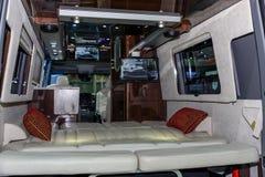 À l'intérieur de la voiture de classique de courant d'air Image stock