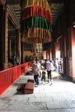 À l'intérieur de Lama Temple, Pékin photos stock