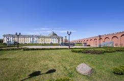À l'intérieur de Moscou Kremlin, la Russie photo stock