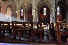 À l'intérieur de Roman Catholic Cathedral Images stock