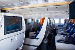 À l'intérieur des avions Images libres de droits