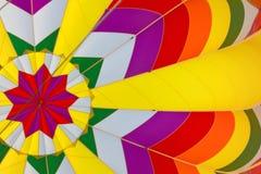 À l'intérieur du ballon à air chaud Image libre de droits
