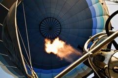 À l'intérieur du ballon Image stock