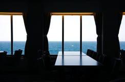 À l'intérieur du bateau Photographie stock libre de droits