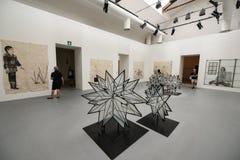 À l'intérieur du Biennial 2017 de Venise Image libre de droits