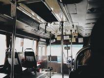 À l'intérieur du bus Photos libres de droits