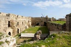 Cour sur le château historique d'Othello images stock