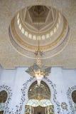 À l'intérieur du cheik Zayed Mosque en Abu Dhabi photos libres de droits