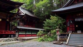 À l'intérieur du complexe Mitsumine de temple japan Chichibu Saitama clips vidéos