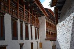 À l'intérieur du Dzong de Punakha, le Bhutan - 6 Photo libre de droits