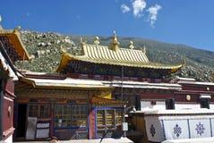 À l'intérieur du monastère de Drepung Photo libre de droits