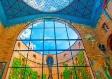 À l'intérieur du musée de Dali Photo stock