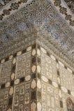 À l'intérieur du palais de miroir en Amer Palace Image libre de droits