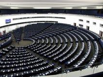 À l'intérieur du parlement Images libres de droits