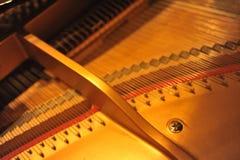 À l'intérieur du piano Images libres de droits