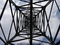 À l'intérieur du pylône Image libre de droits