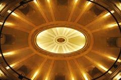 À l'intérieur du San Felipe Neri Oratory, constitution de 1812, Cadix, Espagne Images stock