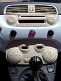À l'intérieur du véhicule Photos stock
