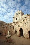 À l'intérieur du vieux château (2) Photos stock