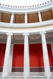 À l'intérieur du zappeion, Athènes Image stock