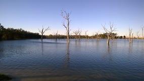 À l'intérieur lac Image stock